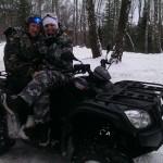 Прокат квадроциклов - январь 2014