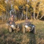 Прокат квадроциклов октябрь