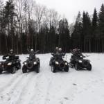 Прокат квадроциклов февраль 2015